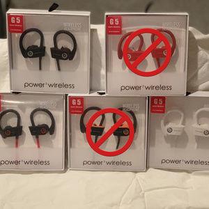 Accessories - G5   POWER 3 WIRELESS  BLUETOOTH IN EAR HEADPHONES